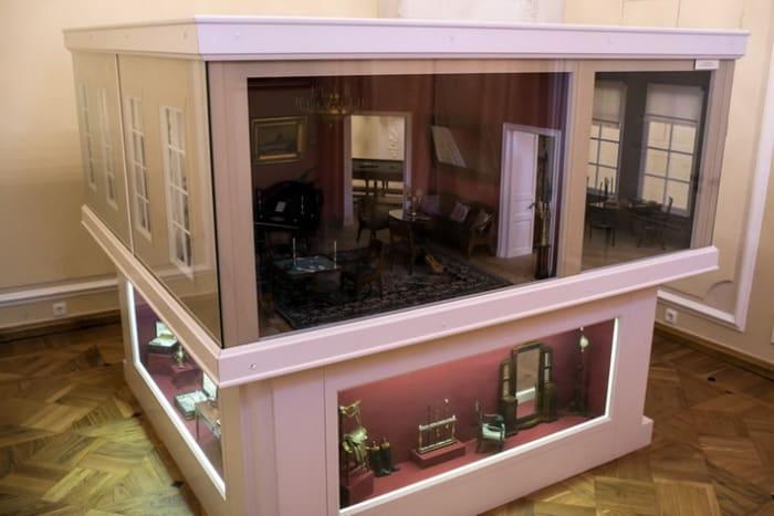 The Small House of Nashchokin. Russian Museum of A.S. Pushkin