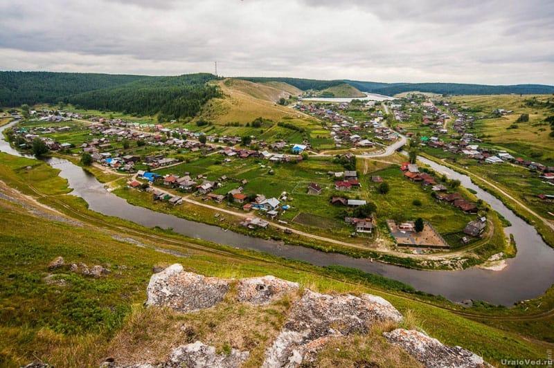 Село Нижнеиргинское. Общий вид. 2010-е гг.