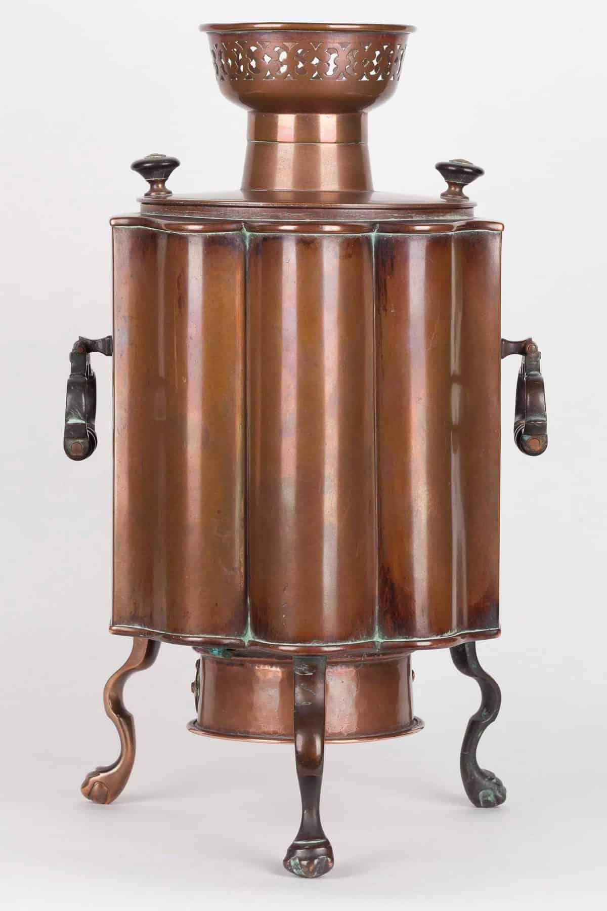 KB 588 Samovar with removable fire grate