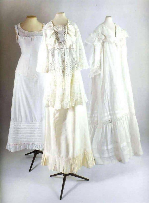 Дамские рубашки 1840-х гг.