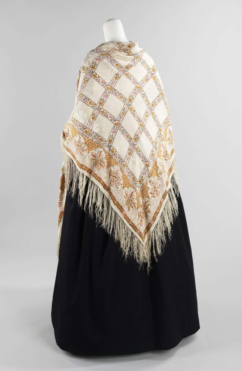 Французская шаль 1840-х гг.