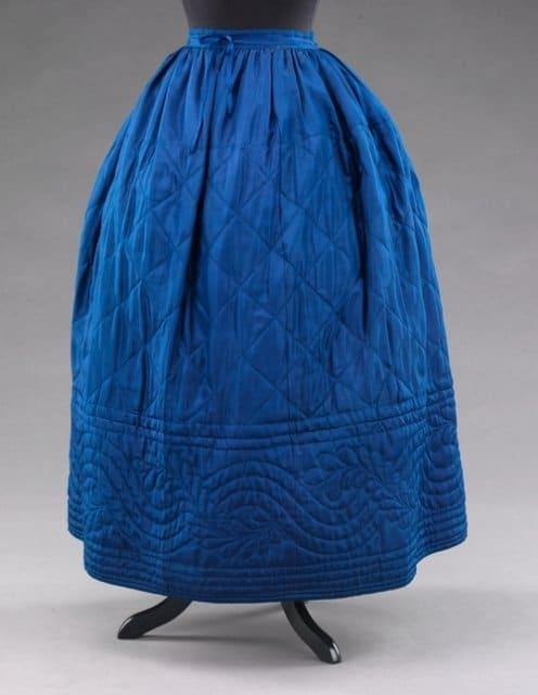 Нижняя юбка 1840-х гг.