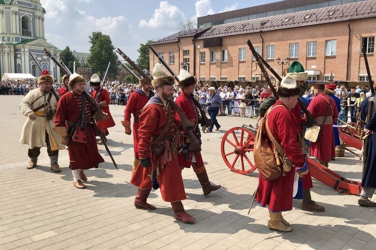 Фестиваль исторической реконструкции в Тульском кремле. Фото 2019 г.