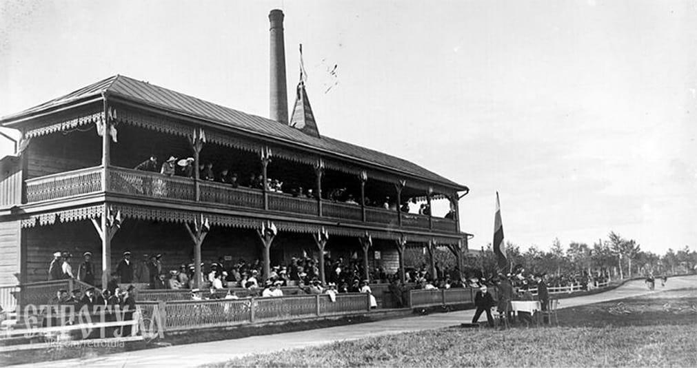 Тульский трек в 1902 г.