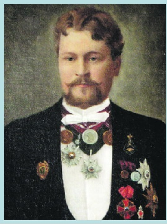 Портрет А. С. Баташева. Неизв. художник. 1880-е гг.