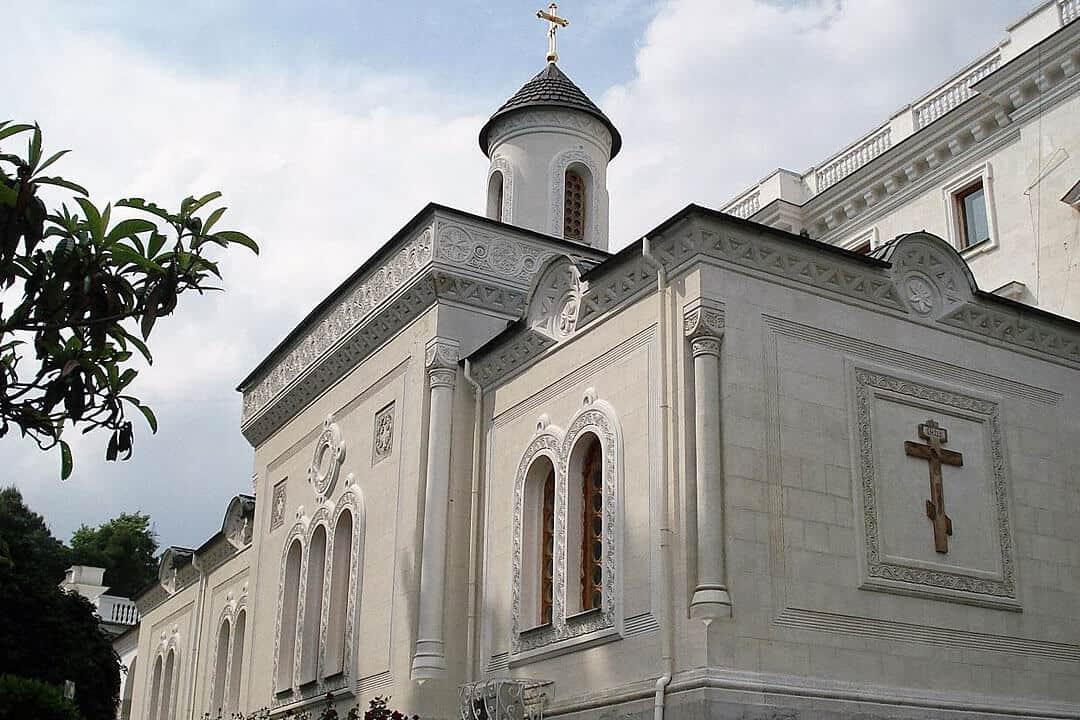 Крестовоздвиженская церковь. Фото 2020 г.