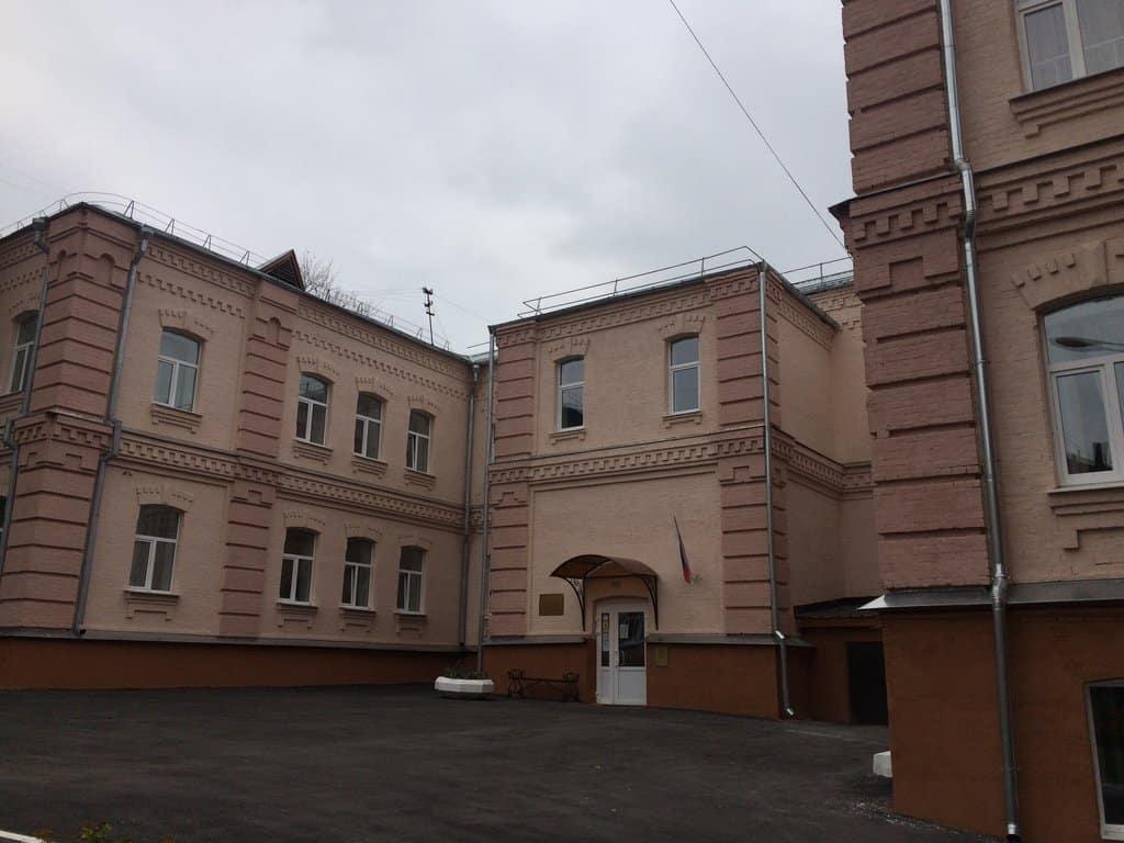 Старая часть комплекса зданий коррекционной школы-интерната (бывший Баташевский приют). Фото 2010-х гг.