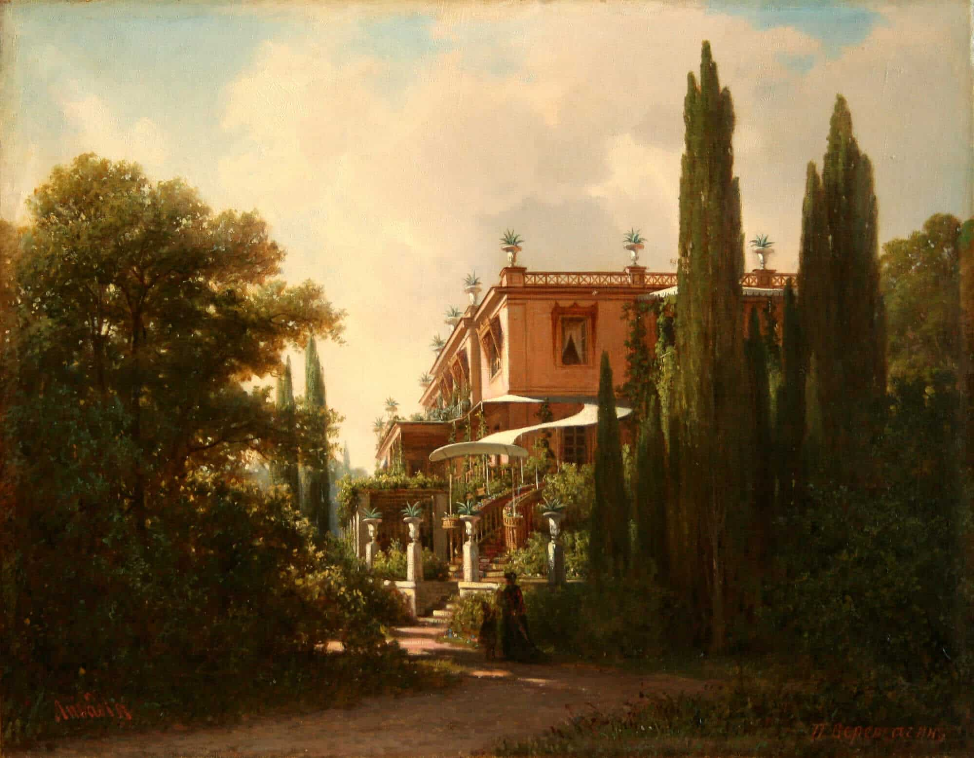 В. В. Верещагин. Лестница Большого дворца. 1870 г.