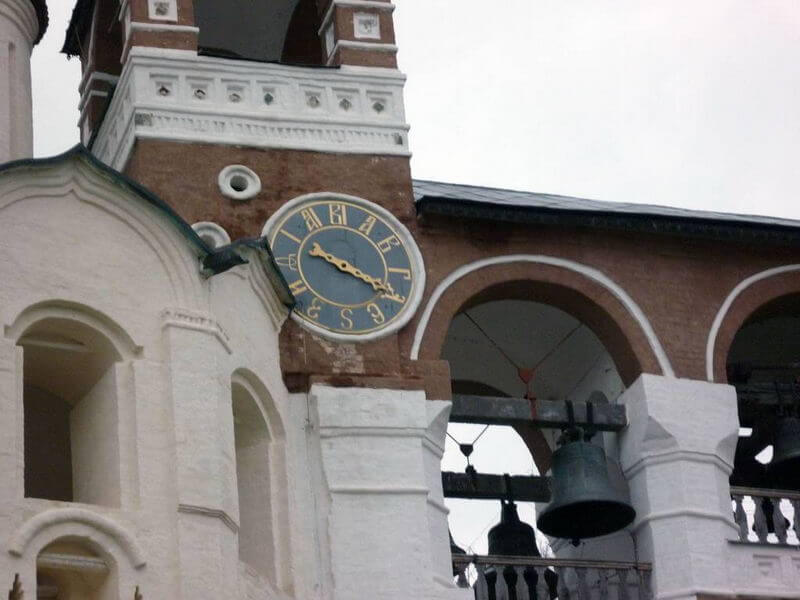 Башенные часы старорусской конструкции Спасо-Ефимиева монастыря в г. Суздале. Реконструкция 2004 г.