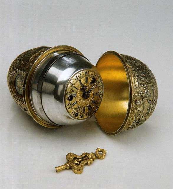 Часы «Яичной фигуры» И. П. Кулибина. 1767 г. Эрмитаж. С.-Петербург.