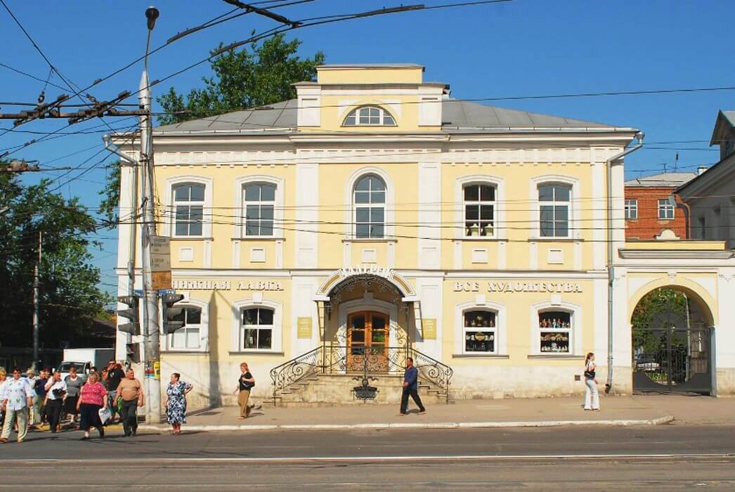 Дом И. И. Кобылина на ул. Октябрьской (Миллионной). Фото нач. XXI в.