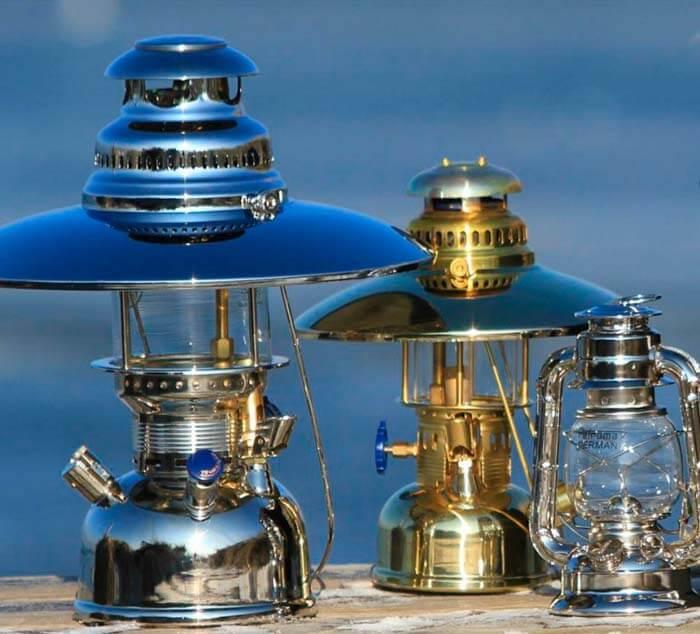 Современные калильные лампы Petrolex